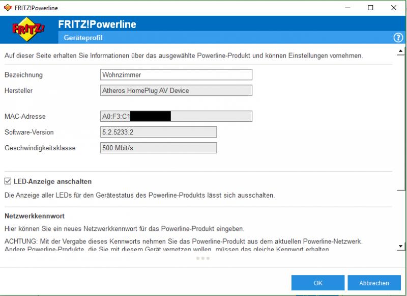 Konfiguration-Fritzbox