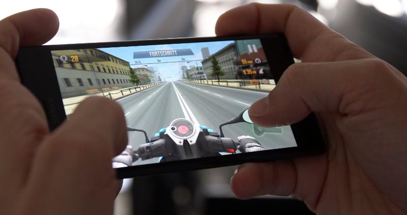 Sony Xperia XZ1 Gaming Performance