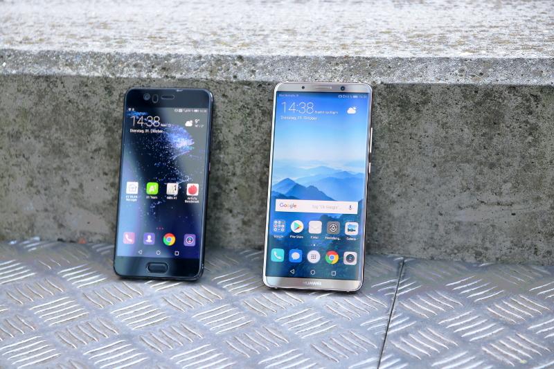 Huawei Mate 10 Pro & Huawei P10 Vergleich