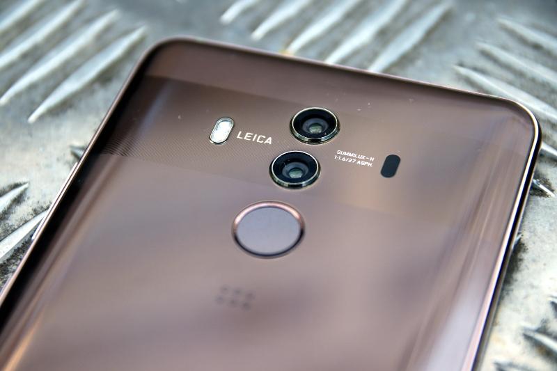 Huawei Mate 10 Pro Fingerabdruck