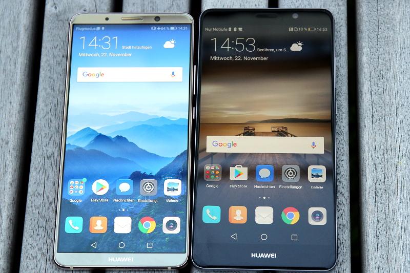 Huawei Mate Vergleich: Mate 10 Pro & Mate 9