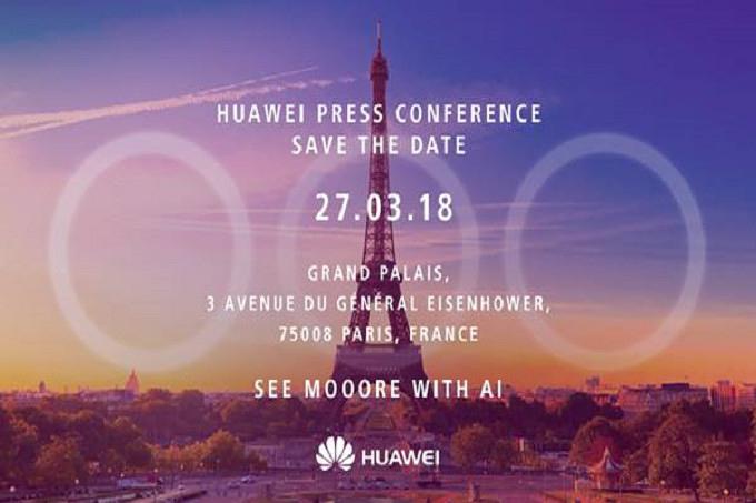 Huawei P20 Einladung Paris