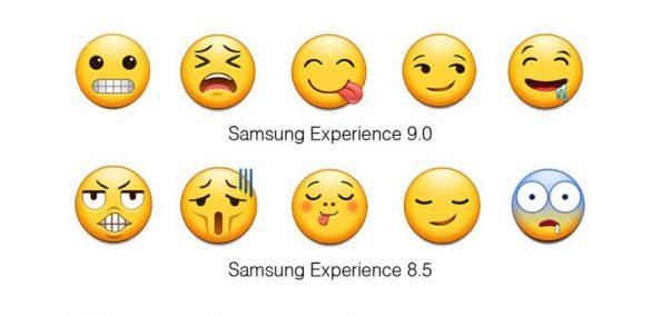 Samsung neue Emojis
