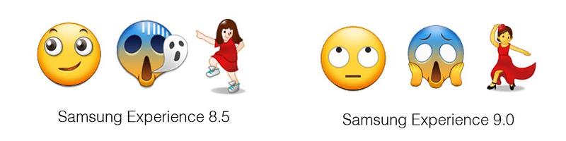 Samsung Experience 9.0 neue Emojis
