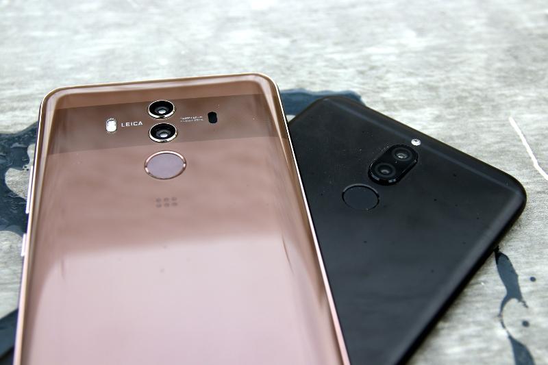 Huawei Mate 10 Lite Test: Fingerabdrucksensor