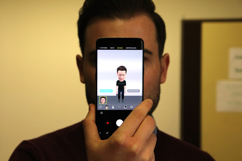 Samsung Galaxy S9 Test: AR-Emojis