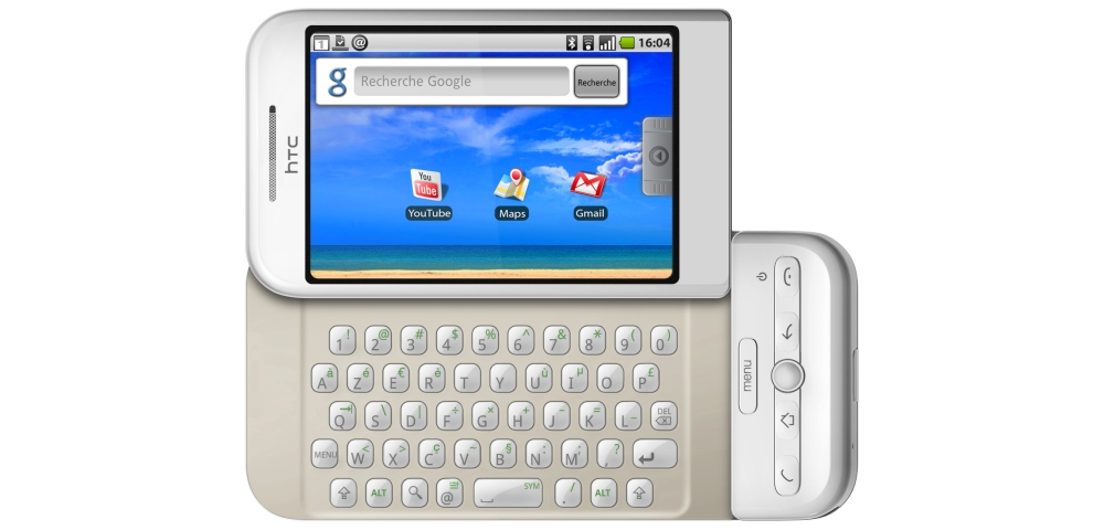HTC Dream 10 Jahre Android