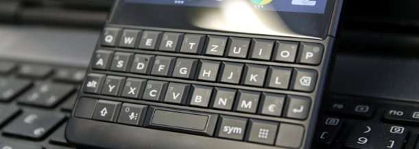 BlackBerry Key2 Test Keyboard