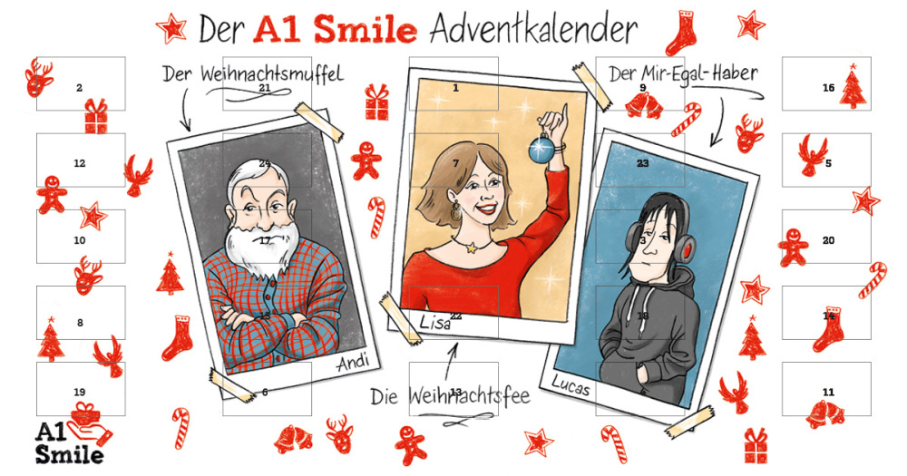 A1 Smile Adventkalender