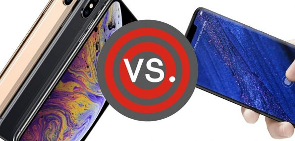 Test Vergleich iPhone XS vs. Mate 20 Pro