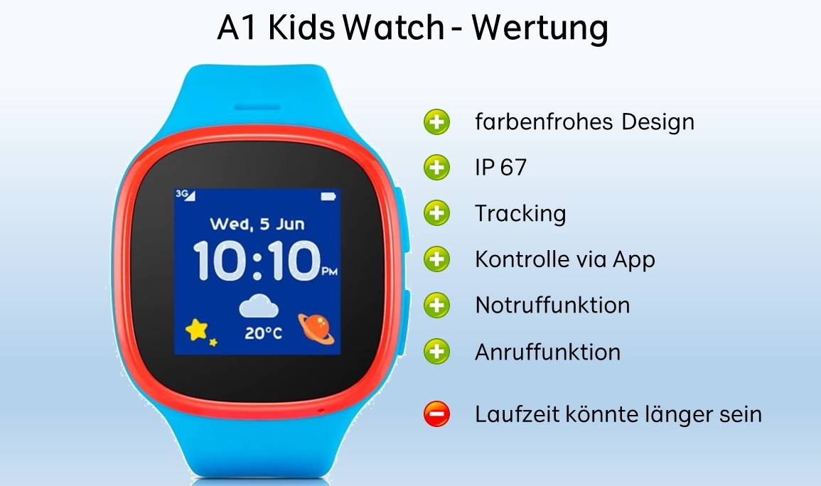 A1 Kids Watch Wertung