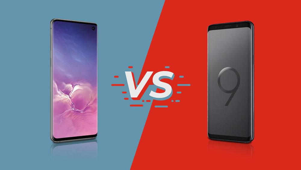 Samsung Galaxy S10 vs. Samsung Galaxy S9 Vergleich