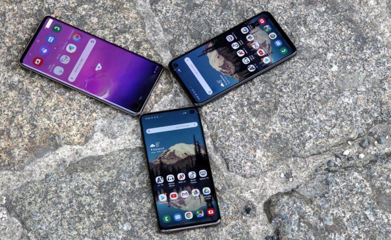Samsung Galaxy S10, S10+ und S10e Test