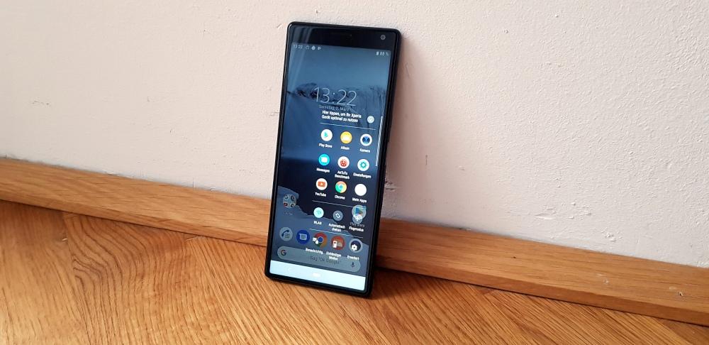 Sony Xperia 10 Test Sidesense