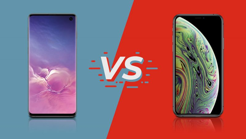 im vergleich iphone xs vs galaxy s10 a1blog. Black Bedroom Furniture Sets. Home Design Ideas