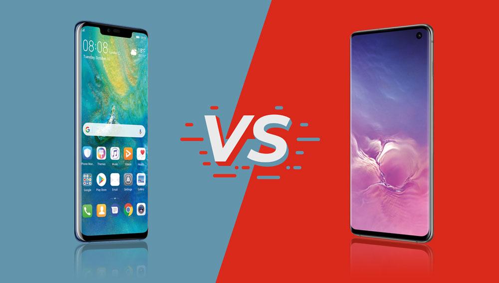 Huawei Mate 20 Pro vs. galaxy S10 Test Vergleich