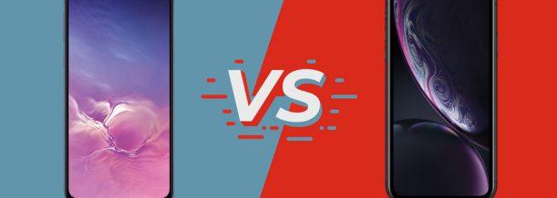 Samsung Galaxy S10e vs. iPhone XR Test Vergleich