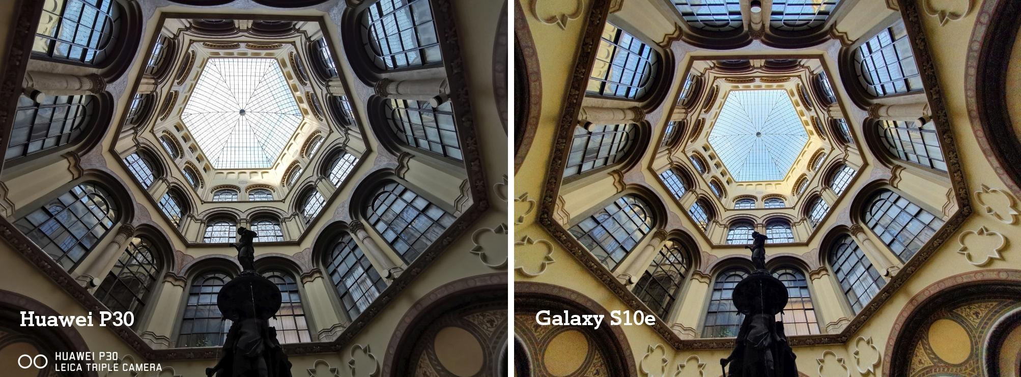 Vergleich Tesdt Huaweo P30 vs. Galaxy S10e Kamera Tag