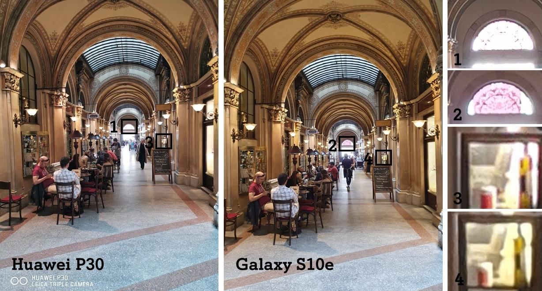 Huawei P30 vs. S10e Test Vergleich Kamera Tag