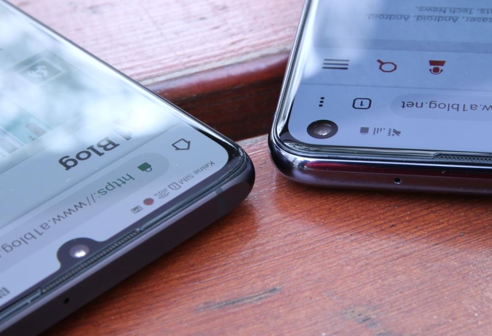 Huawei P30 vs. Galaxy S10e Kante Vergleich Test