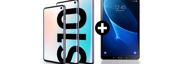 Samsung Galaxy S10 gratis Samsung Tablet