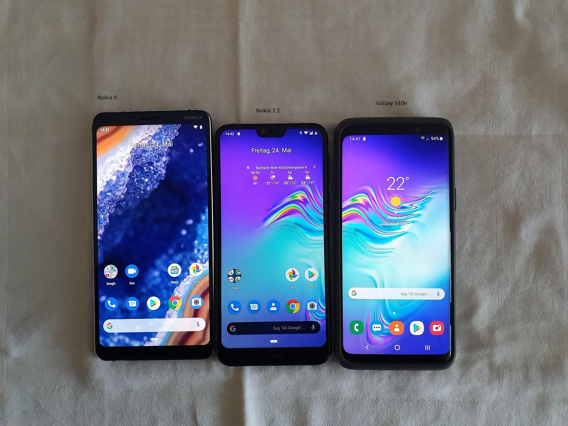 Nokia 9 Handyvergleich