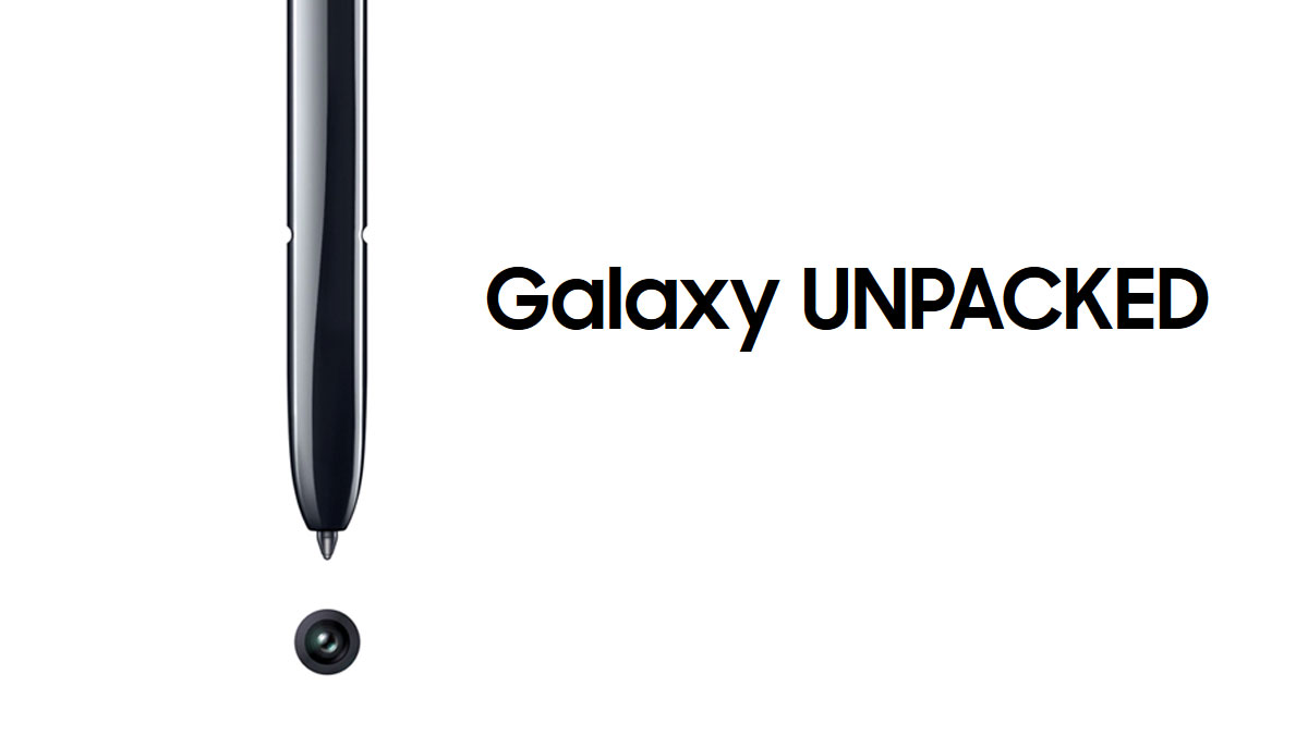 Samsung Galaxy Note 10 Unpacked