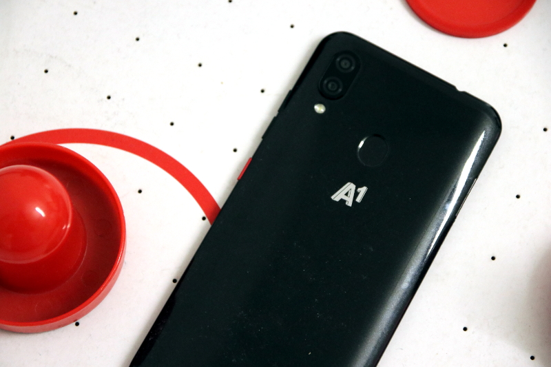 A1 Alpha Test Rückseite