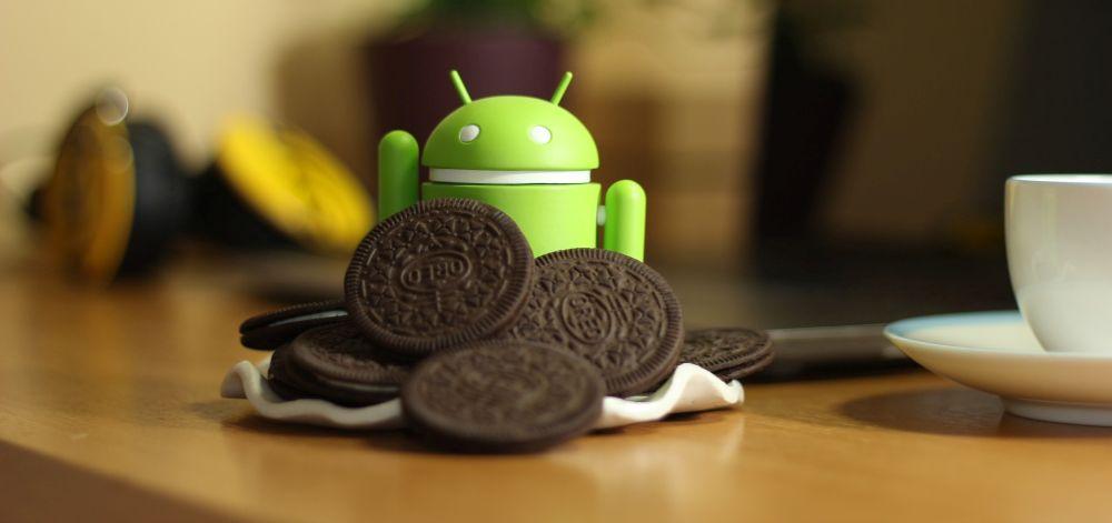 Android mit Oreo Keksen