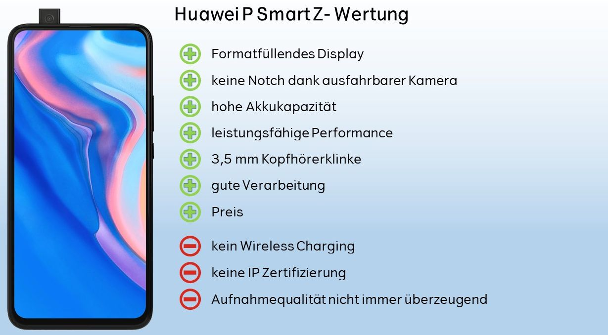 Huawei P Smart Z Wertung