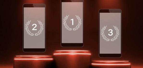 Smartphone Ranking Display Gehäuse Verhältnis 2019