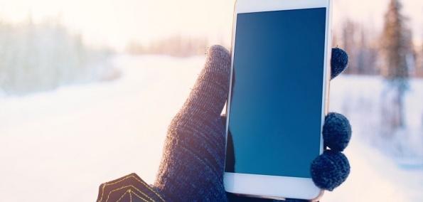 Tipps Winter Smartphone