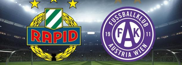 Derby Rapid Wien vs. Austria WIen; Vereinswappen