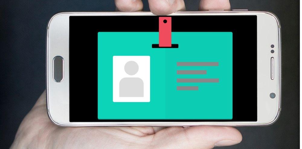 Smartphone mit Ausweis