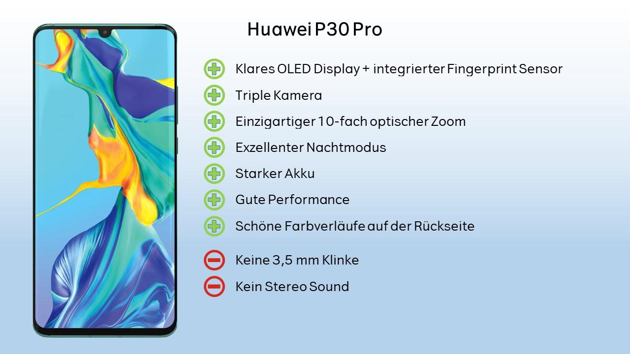 Huawei P30 Pro - Wertung