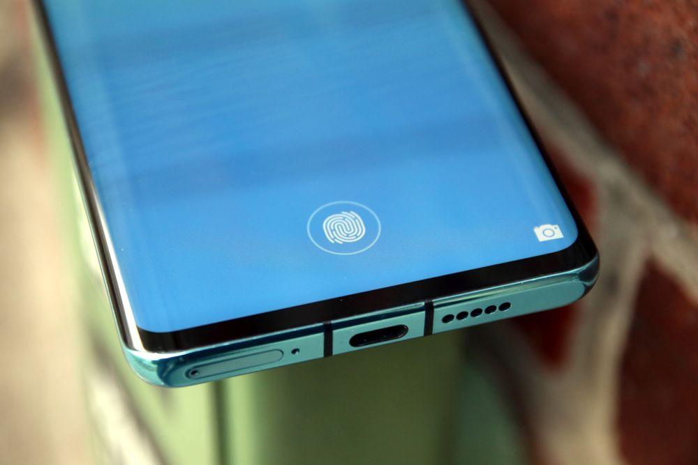 Huawei P30 Pro Test Fingerabdrucksensor
