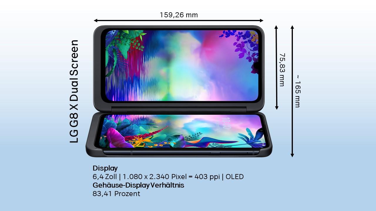 LG G8X Design