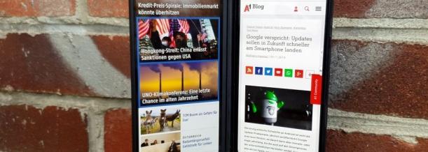 LG G8X mit Dual Screen