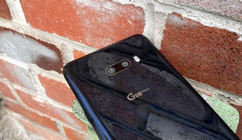LG G8X Rückseite