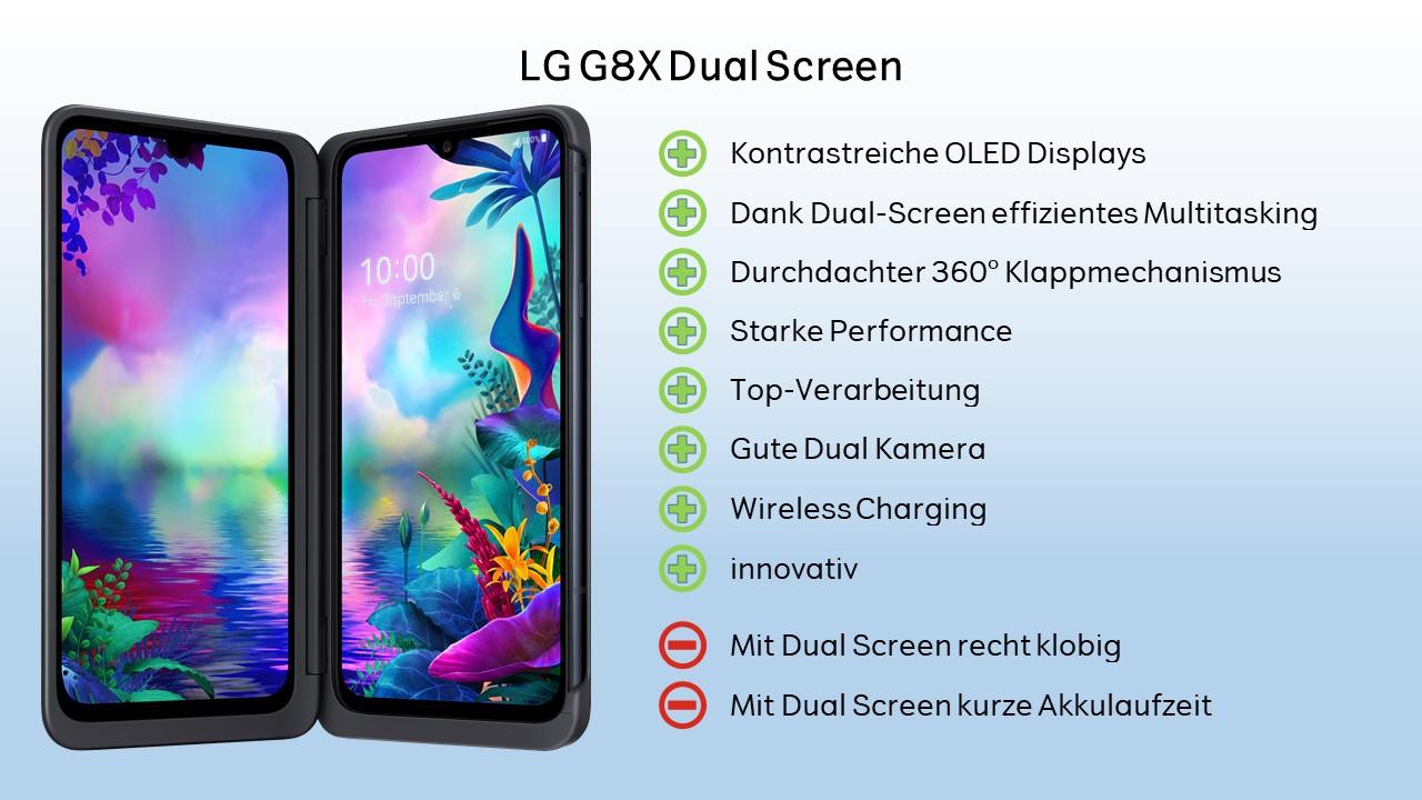 LG G8X Wertung