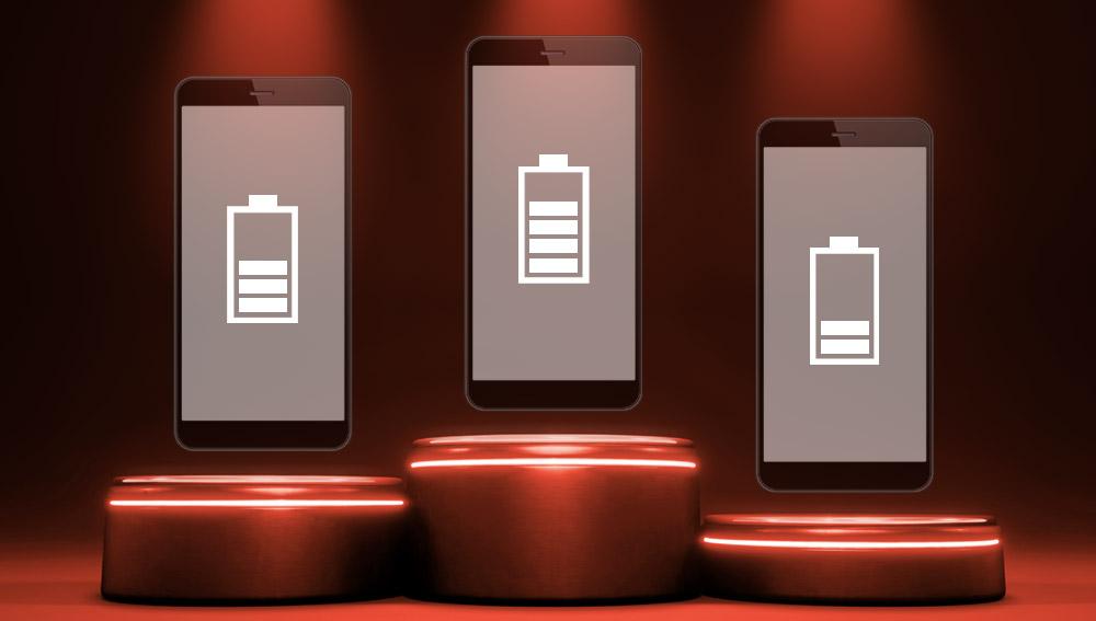 Akku Ranking beste Smartphones