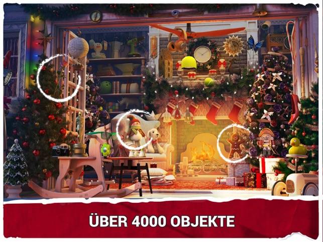 Wimmelbild Weihnachten