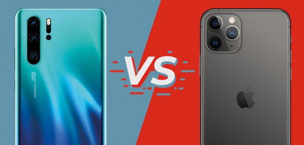 Vergleichstest iPhone 11 Pro Max vs. Huawei P30 Pro