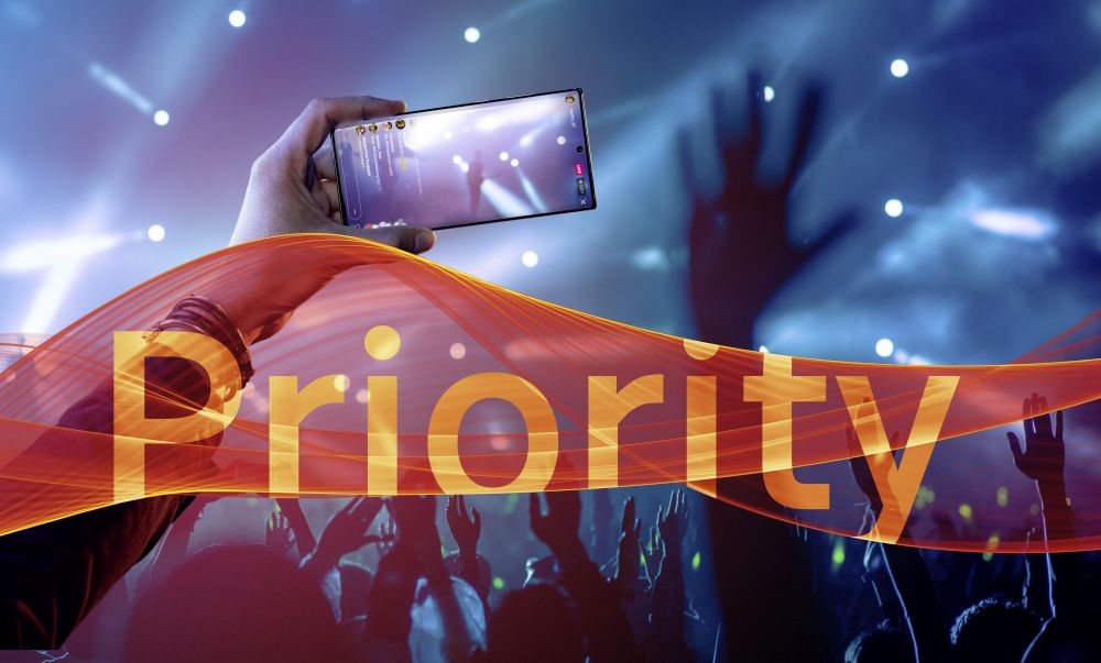 5G Netz Priority