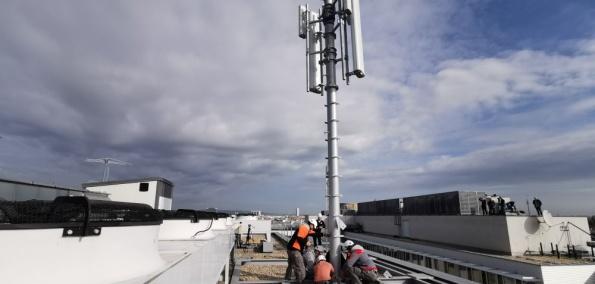 Aufbau 5G Antenne