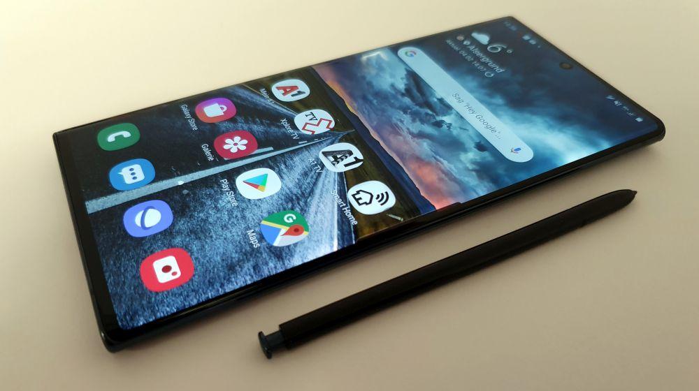 Samsung Galaxy Note 10 5G Test S-Pen