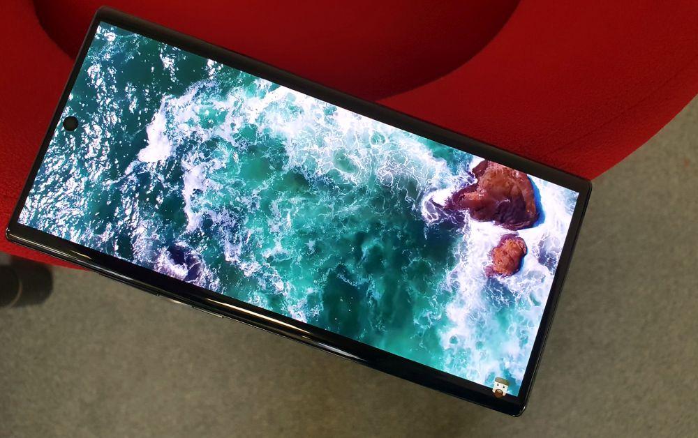 Samsung Galaxy Note 10 5G Display