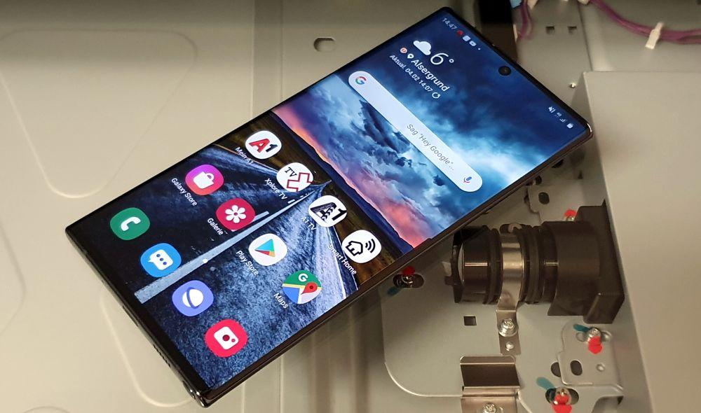 Samsung Galaxy Note 10 5G Test