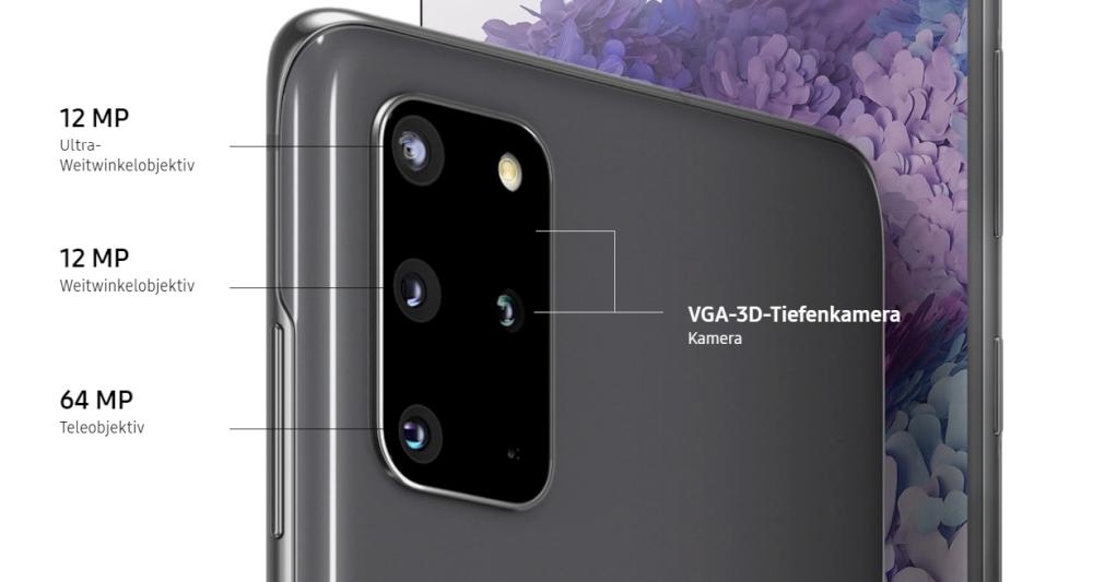Galaxy S20+ Kamera