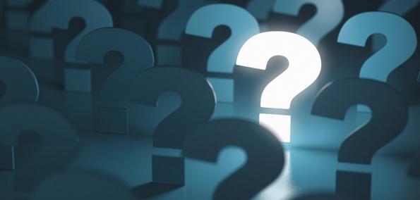 Erleuchtetes Fragezeichen - Internet-Technologie einfach erklärt